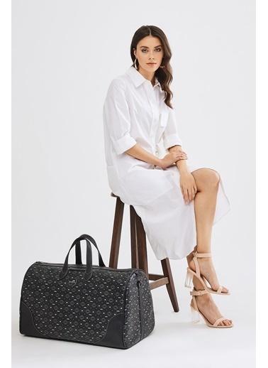 Deri Company Bavul Siyah